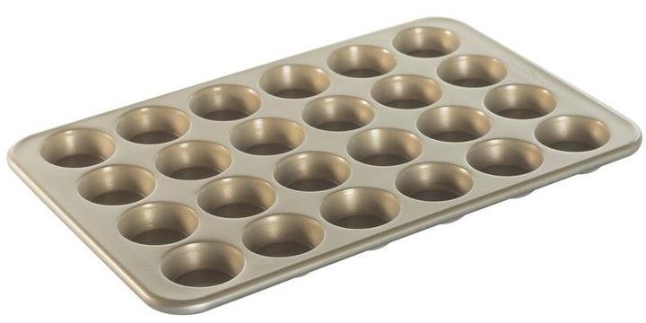 Nordic Ware Naturals Nonstick Commercial Bakeware Petite Muffins 24-Cup Pan