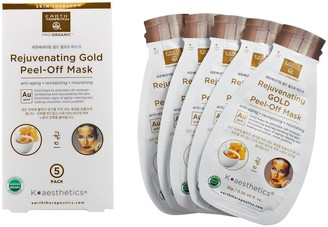 Earth Therapeutics Rejuvenating Gold Peel-Off Face Mask