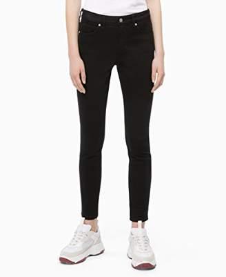 Calvin Klein womens CKJ 001 Mid Rise Super Skinny Fit Jean