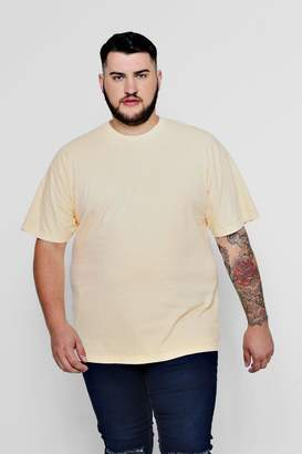 boohoo Big & Tall Loose Fit Washed T-Shirt