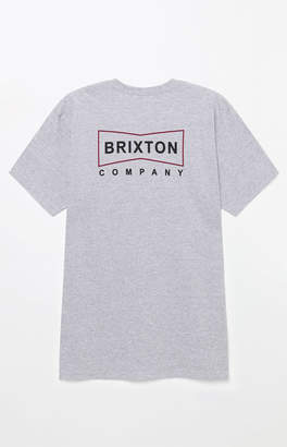 Brixton Wedge Grey T-Shirt