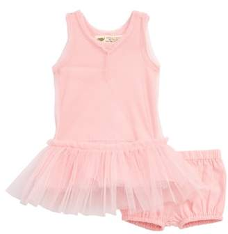 MONICA + Andy Little Belle Tulle Dress & Bubble Bloomers Set