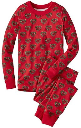 Kids Long John Pajamas In Organic Cotton $44 thestylecure.com