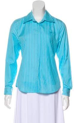 Lilly Pulitzer Striped Button-Up Top