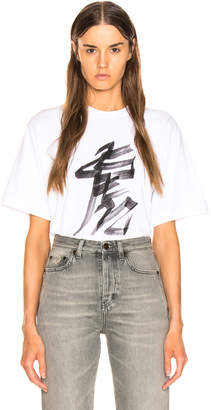 Vetements Tiger Chinese Zodiac T Shirt in White | FWRD
