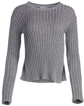 RED Valentino Ribbed Knit Sweater