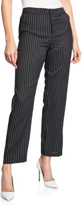 Romeo & Juliet Couture Pinstripe Cropped Trousers
