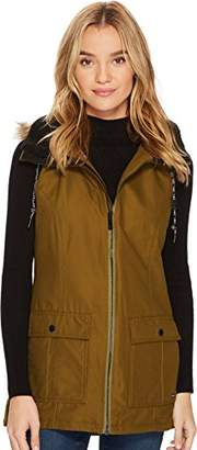 Volcom Junior's Longhorn Butter Twill Insulated Vest