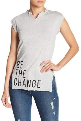Knit Riot Be The Change Muscle Tank Top