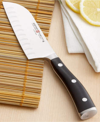 "Wusthof Classic Ikon Santoku Knife, 5"" Hollow Edge"