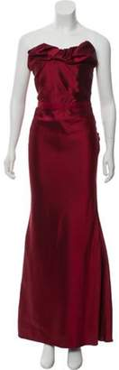 Lanvin Strapless Evening Dress w/ Tags Strapless Evening Dress w/ Tags