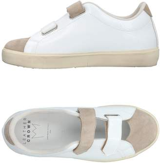 Leather Crown Low-tops & sneakers - Item 11384907WP