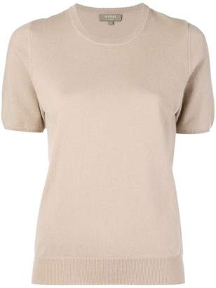 N.Peal round neck knitted T-shirt