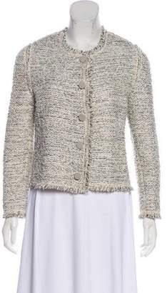 Balenciaga Silk Blend Jacket