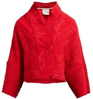 By Walid Lamia 19th Century Silk Jacket - Womens - Red