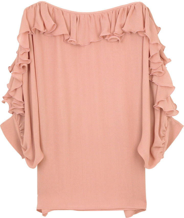 Stella McCartney Ruffle trim blouse
