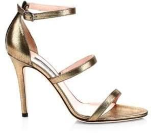 4a4a009ec42 Sarah Jessica Parker Halo Strappy Stiletto Heels
