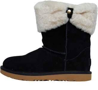UGG Girls Ramona Classic Short II Boots Black