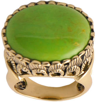 Artsmith BY BARSE Art Smith by BARSE Green Turquoise Statement Ring