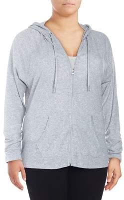 Calvin Klein Plus Tictactoe Full-Zip Hoodie