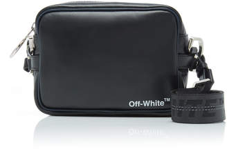 Off-White Printed Leather Crossbody Bag