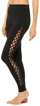 Alo Yoga Side Laced Leggings $108 thestylecure.com