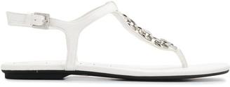 Calvin Klein chain link sandals