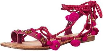 Chinese Laundry Women's Portia Toe Ring Pom Pom Sandal