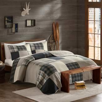 Woolrich 3-piece Winter Hills Plaid Quilt Set