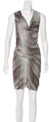 Helmut Lang Digital Print Mini Dress