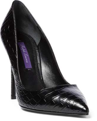 Ralph Lauren Celia Alligator Pump