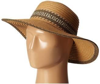 San Diego Hat Company UBL6480 Ultrabraid Sunbrim w/ Pattern Band Caps