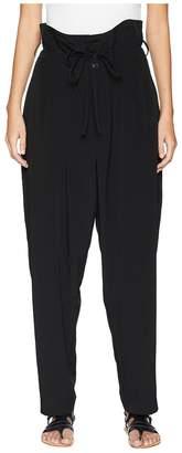 Yohji Yamamoto Y's by U-High-Waist Pants Women's Casual Pants