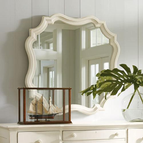 Coastal Living Piecrust Mirror in Choice of Color