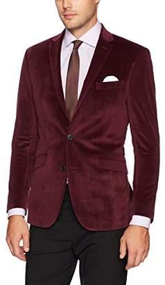 Kenneth Cole Reaction Men's Velvet Slim Fit Evening Blazer