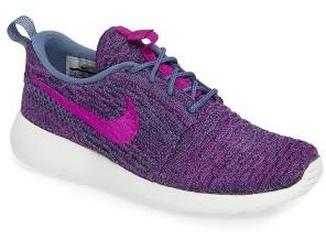 Women's Nike Flyknit Roshe Run Sneaker $120 thestylecure.com