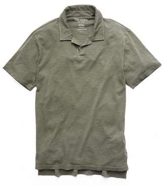 Todd Snyder Made in L.A. Montauk Polo in Olive