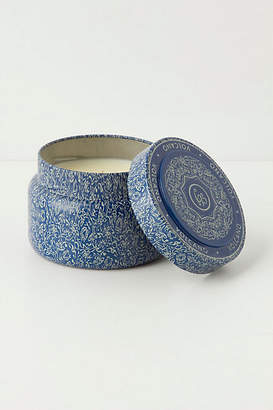 Anthropologie Capri Blue Candle Tin