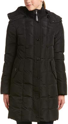 Mackage Capri Leather-Trim Down Coat