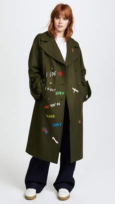 Mira Mikati Aventure Embroidered Coat