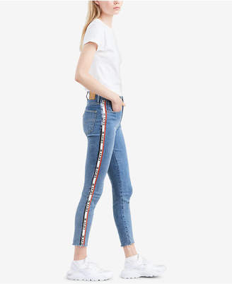 Levi's Limited 721 Side-Tape Skinny Jeans, Created for Macy's