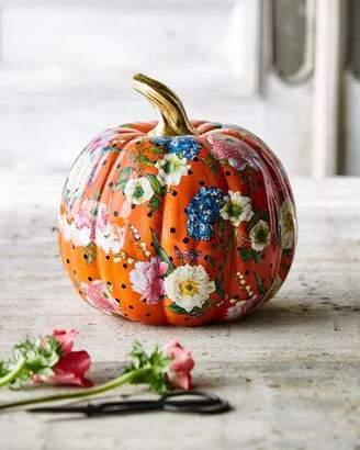 Mackenzie Childs MacKenzie-Childs Flower Market Medium Pumpkin
