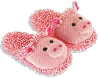 Aroma Home Women's Pig Fuzzy Friends Slippers