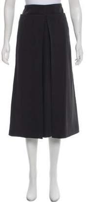 Calvin Klein Collection Pleated Midi Skirt