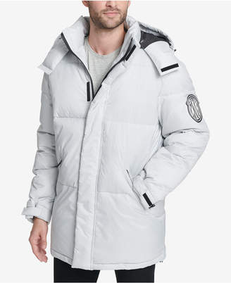 DKNY Men Hooded Bubble Parka