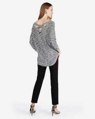 Express Extreme Circle Hem Tunic Sweater