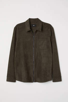 H&M Shirt Jacket - Green