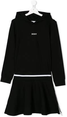 DKNY TEEN hooded dress