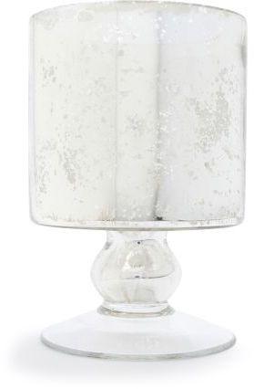 Sur La Table Mercury Glass Hurricane Candle Holder