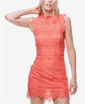 Free People Daydream Lace Bodycon Dress $98 thestylecure.com